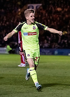 Bolton Wanderers' Ronan Darcy celebrates scoring his side's first goal <br /> <br /> Photographer Andrew Kearns/CameraSport<br /> <br /> The EFL Sky Bet League One - Lincoln City v Bolton Wanderers - Tuesday 14th January 2020  - LNER Stadium - Lincoln<br /> <br /> World Copyright © 2020 CameraSport. All rights reserved. 43 Linden Ave. Countesthorpe. Leicester. England. LE8 5PG - Tel: +44 (0) 116 277 4147 - admin@camerasport.com - www.camerasport.com