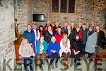 MASS: Former members of the Rose of Tralee who gathered at St John's Church Tralee for the annual remembrance mass for deceased members of the Rose of Tralee Festival on Saturday evening were Fr Sean Hanafin celebrated the mass