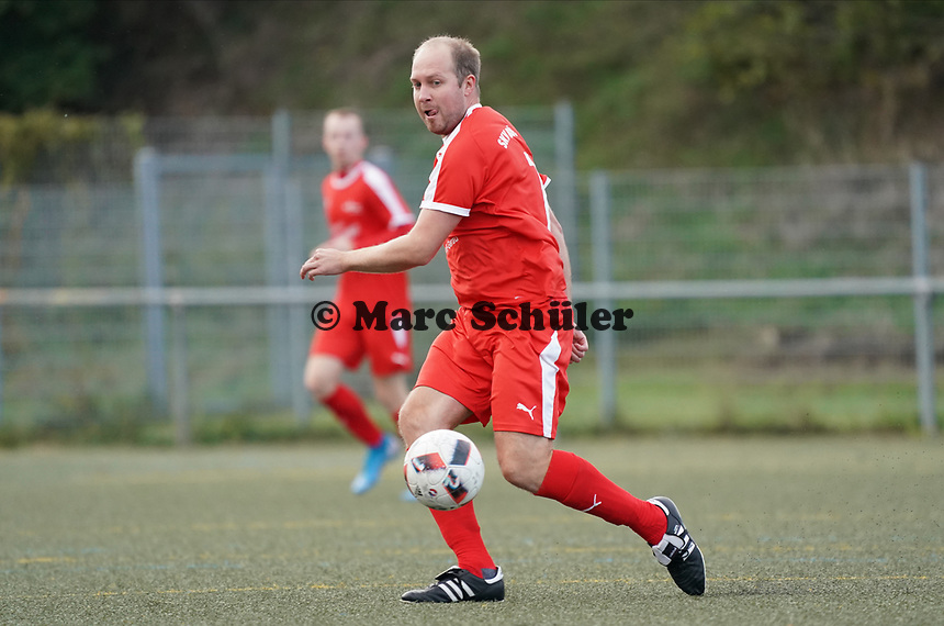 Nick Hölzel (SKV Büttelborn) - Büttelborn 03.10.2019: SKV Büttelborn vs. FSG Riedrode, Gruppenliga Darmstadt