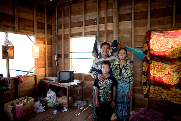 Houses are modest, but functional and built to last.<br /> <br /> As land prices skyrocket in Phnom Penh due to a construction boom, thousands of families in homes for which they own no title papers are being forced out onto the streets or into vile slum communities barely fit for human habitation.