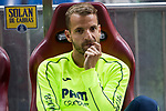 Roberto Soldado of Villarreal during the match of La Liga between Atletico de Madrid and Villarreal at Vicente Calderon  Stadium  in Madrid, Spain. April 25, 2017. (ALTERPHOTOS/Rodrigo Jimenez)