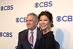 Les Moonves and wife Julie Chen - CBS Upfront 2016 - Oak Room, New York City, New York.  (Photo by Sue Coflin/Max Photos)