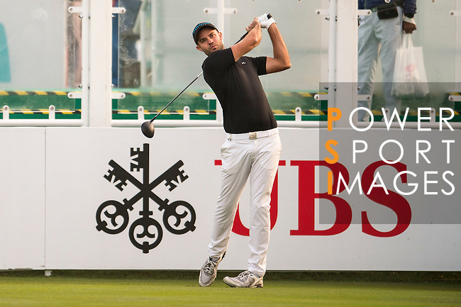 Bernd Ritthammer of Germany tees off the first hole during the 58th UBS Hong Kong Open as part of the European Tour on 08 December 2016, at the Hong Kong Golf Club, Fanling, Hong Kong, China. Photo by Marcio Rodrigo Machado / Power Sport Images