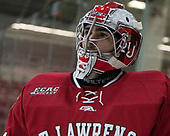 Arthur Brey (SLU - 31) - The Harvard University Crimson defeated the St. Lawrence University Saints 6-3 (EN) to clinch the ECAC playoffs first seed and a share in the regular season championship on senior night, Saturday, February 25, 2017, at Bright-Landry Hockey Center in Boston, Massachusetts.