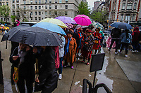 Nova York (EUA), 22/04/2019 - Clima / Eua / Metropolitan - Movimentação no Metropolitan Museum of Art em Nova York nos Estados Unidos nesta segunda-feira, 22 de chuva na cidade. (Foto: Vanessa Carvalho/Brazil Photo Press)