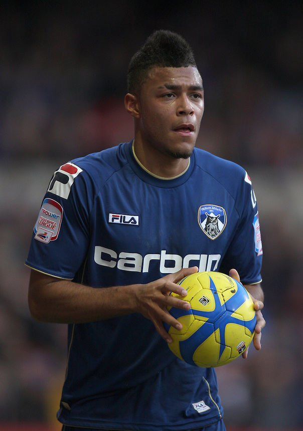 Oldham Athletic's Reece Wabara ..Football - FA Challenge Cup Third Round - Nottingham Forest v Oldham Athletic - Saturday 5th January 2013 - The City Ground - Nottingham..