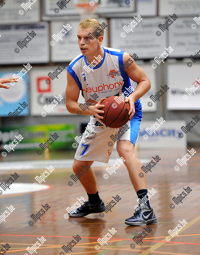 2012-09-15 / Basketbal / seizoen 2012-2013 / Kangoeroes-Boom / Dieter Souveryns..Foto: Mpics.be