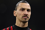 Zlatan Ibrahimovic of AC Milan during the Coppa Italia match at Giuseppe Meazza, Milan. Picture date: 13th February 2020. Picture credit should read: Jonathan Moscrop/Sportimage