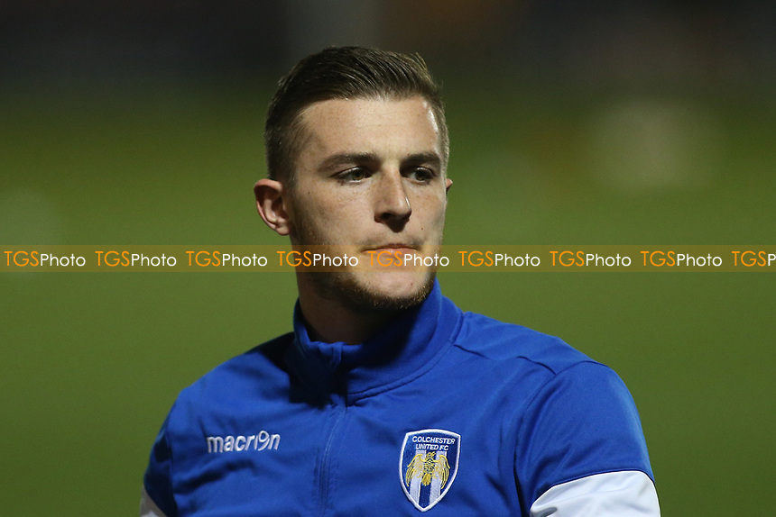 Ben Dickenson of Colchester United during Colchester United vs Mansfield Town, Sky Bet EFL League 2 Football at the Weston Homes Community Stadium on 14th March 2017