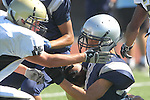 Torrance, CA 09/08/11 - unidentified North player  in action during the North-Peninsula Junior Varsity Football game at North High School in Torrance.