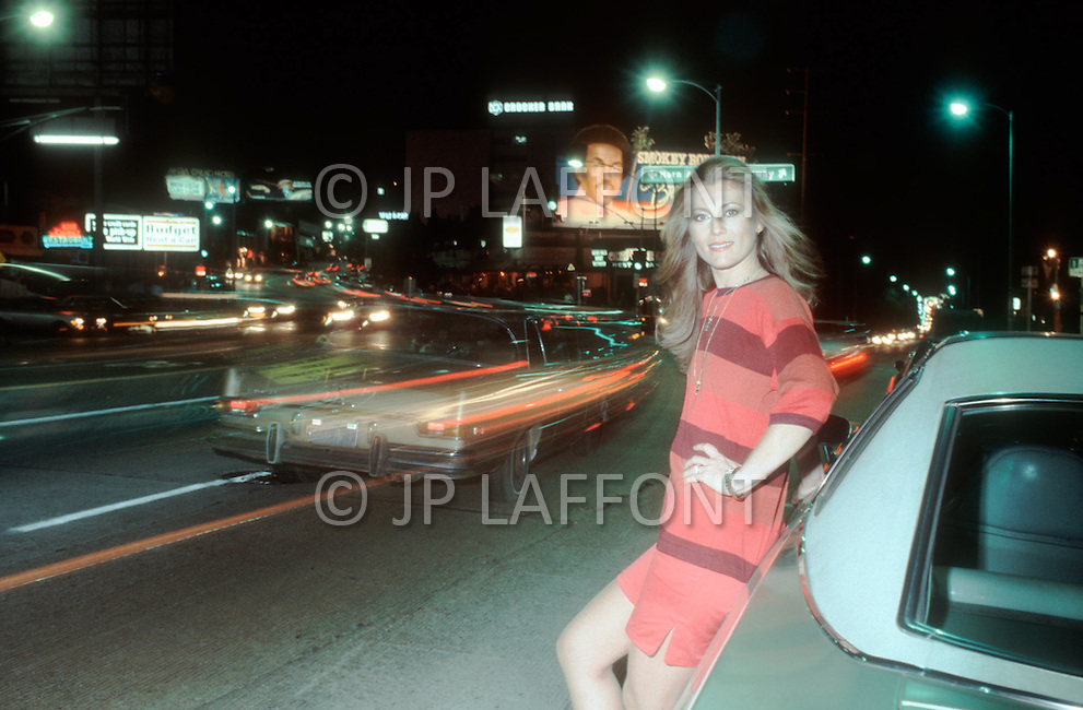 May 1978, Los Angeles, CA. Sheila in Los Angeles.