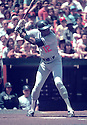 Los Angeles Dodgers Dusty Baker (12) in action during a game against the Philadelphia Phillies at Veterans Stadium in Philadelphia, Pennsylvania .Dusty Baker player the Los Angles Dodgers from 1976-1983.