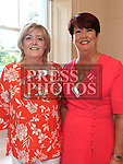 Karen Gorman and Particia Finnegan at the Sacred Heart school class of 1978 40th anniversary reunion in The Boyne Valley hotel. Photo:Colin Bell/pressphotos.ie