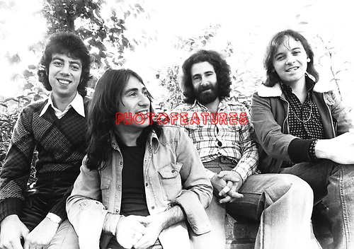 10cc 1973 Graham Gouldman, Lol Creme, Kevin Godley and Eric Stewart..© Chris Walter..