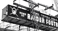 Oakland Raiders move into Frank Youell Field in downtown Oakland in 1962. Copyright Ron Riesterer