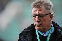 John Mckee, Fiji Head Coach, ahead of the Old Mutual Wealth Series match between England and Fiji at Twickenham Stadium on Saturday 19th November 2016 (Photo by Rob Munro)