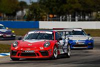 2017 Porsche GT3 Cup USA<br /> Sebring International Raceway, Sebring, FL USA<br /> Friday 17 March 2017<br /> 11, Phil Bloom, GT3P, USA, 2017 Porsche 991<br /> World Copyright: Jake Galstad/LAT Images<br /> ref: Digital Image lat-galstad-SIR-0317-14858