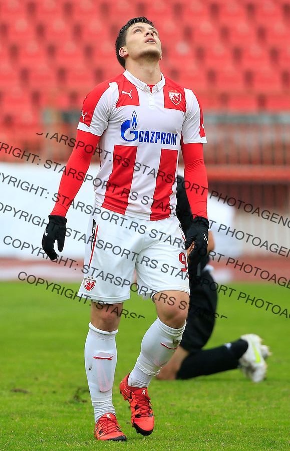 Fudbal Jelen Super League season 2015-2016<br /> Crvena Zvezda v Vozdovac<br /> Luka Jovic reacts<br /> Beograd, 28.11.2015.<br /> foto: Srdjan Stevanovic/Starsportphoto&copy;