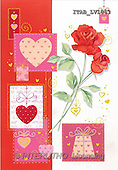 Andrea, VALENTINE, paintings, roses, hearts(ITABLV1063,#V#) ,everyday