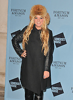 DJ Goldierocks (Samantha Louise Hall) at the Skate at Somerset House with Fortnum &amp; Mason VIP launch party, Somerset House, The Strand, London, England, UK, on Wednesday 16 November 2016. <br /> CAP/CAN<br /> &copy;CAN/Capital Pictures /MediaPunch ***NORTH AND SOUTH AMERICAS ONLY***