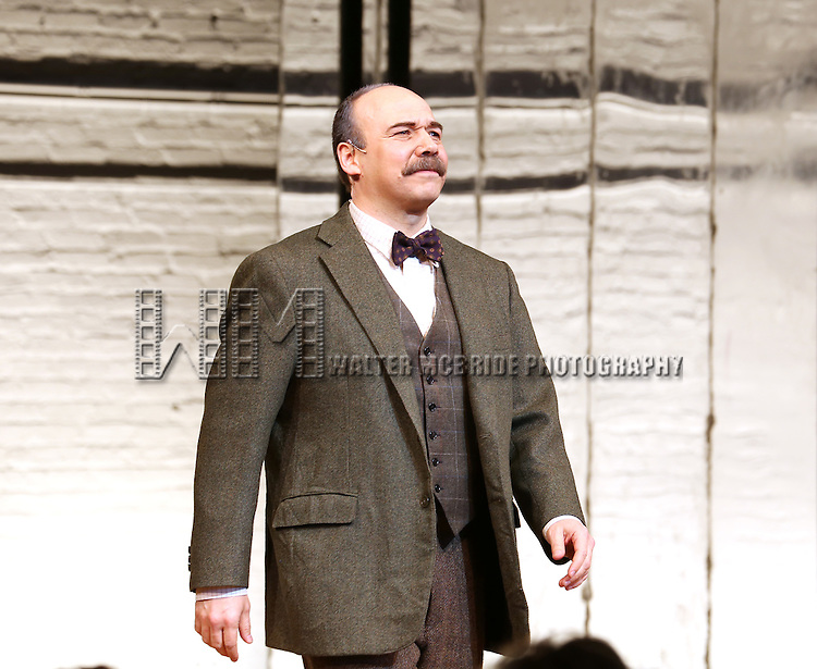 Danny Burstein during the Broadway Opening Night Performance Curtain Call for 'Cabaret' at Studio 54 on April 24, 2014 in New York City.