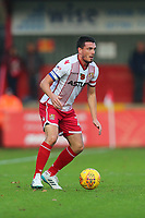 Ron Henry of Stevenage during Stevenage vs Notts County, Sky Bet EFL League 2 Football at the Lamex Stadium on 11th November 2017