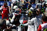 Kevin Magnussen (DAN)  McLaren F1 Team - Nico Rosberg (GER), Mercedes GP<br />  Foto &copy; nph / Mathis