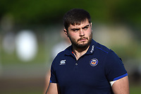 Will Vaughan of Bath United looks on prior to the match. Remembrance Rugby match, between Bath United and the UK Armed Forces on May 10, 2017 at the Recreation Ground in Bath, England. Photo by: Patrick Khachfe / Onside Images