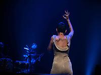 """SÃO PAULO, SP. 03.10.2019 - SHOW-SP -Kell Smith, durante show em homenagem à Simonal, """"Novo Baile do Simonal"""", no Tom Brasil, em São Paulo, nesta quinta-feira, 03. (Foto: Bruna Grassi / Brazil Photo Press)"""