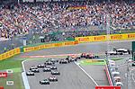 F1 Race Start - Felipe Massa (BRA), Williams GP - Kevin Magnussen (DAN)  McLaren F1 Team<br />  Foto &copy; nph / Mathis