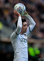 Leeds United's Pablo Hernandez takes a throw in<br /> <br /> Photographer Alex Dodd/CameraSport<br /> <br /> The EFL Sky Bet Championship - Hull City v Leeds United - Saturday 29th February 2020 - KCOM Stadium - Hull<br /> <br /> World Copyright © 2020 CameraSport. All rights reserved. 43 Linden Ave. Countesthorpe. Leicester. England. LE8 5PG - Tel: +44 (0) 116 277 4147 - admin@camerasport.com - www.camerasport.com