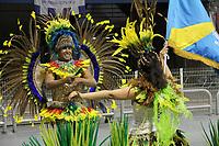 SÃO PAULO, SP, 05.03.2019 - CARNAVAL-SP - Integrante da escola de samba Uirapuru da Mooca durante Desfile do grupo de acesso do Carnaval de São Paulo, no Sambódromo do Anhembi em Sao Paulo, na madrugada desta terça-feira.05 (Foto: Nelson Gariba/Brazil Photo Press)