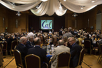 OAKLAND, CA - November 4, 2016: Big C Society 31st Annual Hall of Fame Banquet at the Greek Orthodox Cathedral.