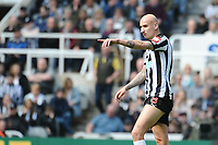 Jonjo Shelvey of Newcastle United during Newcastle United vs Arsenal, Premier League Football at St. James' Park on 15th April 2018