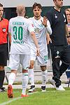 13.07.2019, Parkstadion, Zell am Ziller, AUT, FSP, Werder Bremen vs. Darmstadt 98<br /> <br /> im Bild / picture shows <br /> <br /> Simon Straudi (Werder Bremen #26)<br /> Davy Klaassen (Werder Bremen #30)<br /> <br /> Foto © nordphoto / Kokenge