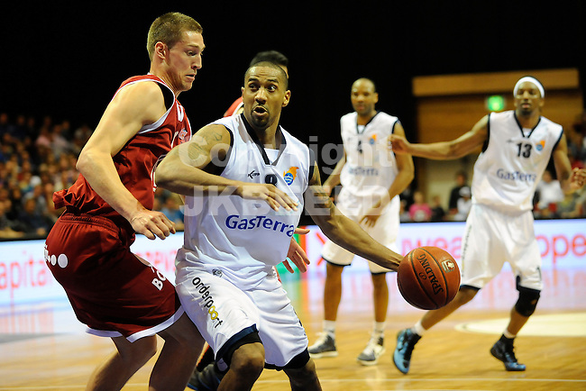GRONINGEN - Basketbal, Martiniplaza,  Gasterra Flames - Eiffeltowers,  Dutsch Basketball League, halve finale  play-offs 5 , seizoen 2011-2012, 13-05-2012 .