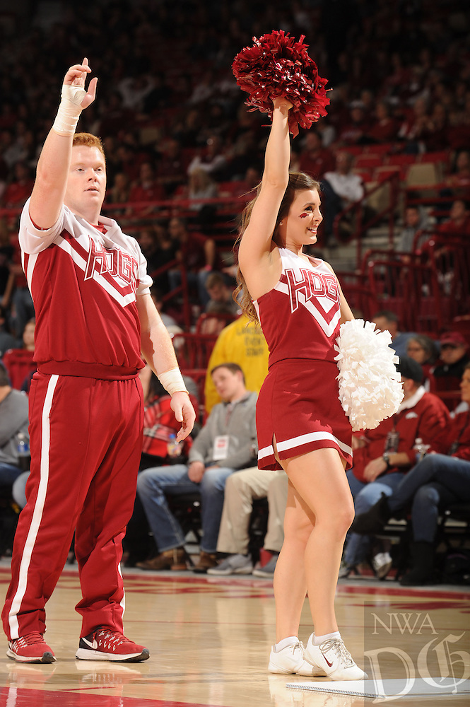 NWA Democrat-Gazette/ANDY SHUPE<br /> of Arkansas of Missouri Saturday, Jan. 14, 2017, during the first half in Bud Walton Arena. Visit nwadg.com/photos to see more photographs from the game.