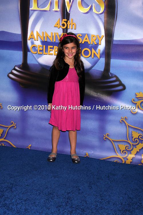 arrives at the Days of Our Lives 45th Anniversary Party
