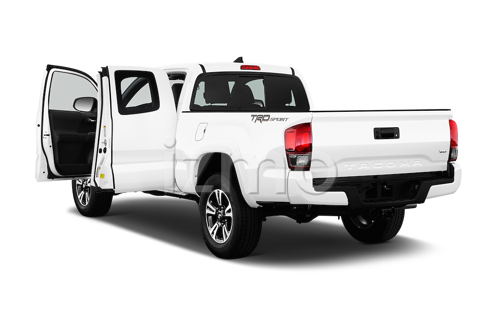 Car images of 2016 Toyota Tacoma TRD Sport 4 Door Pick Up Doors