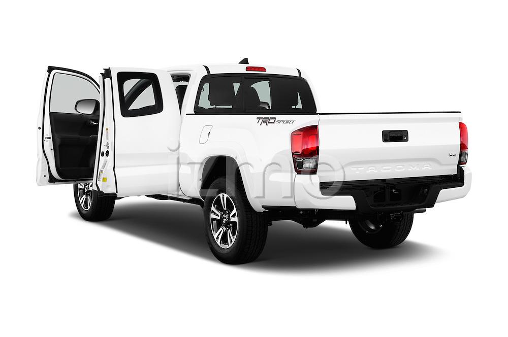 Car images of 2017 Toyota Tacoma TRD Sport 4 Door Pick Up Doors