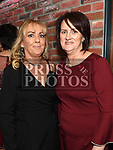 Martina Lowrey and Annmarie Cheung at the Ardee Traders Dinner in Muldoons. Photo:Colin Bell/pressphotos.ie