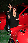 Ozzy Osbourne and Sharon Osbourne auction off their cars.26 November 2007.Photo by Nina Prommer/Milestone Photo