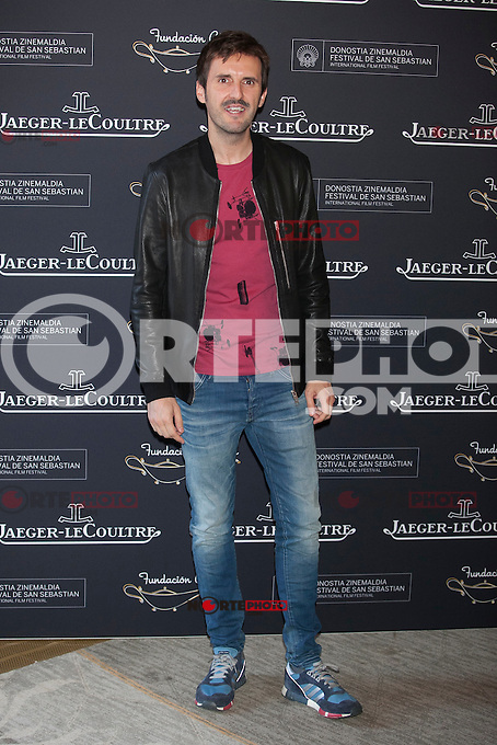 Actor Julian Lopez poses during Aladina Foundation presentation at 63rd Donostia Zinemaldia (San Sebastian International Film Festival) in San Sebastian, Spain. September 18, 2015. (ALTERPHOTOS/Victor Blanco) /NortePhoto.com