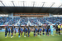 San Jose, CA - Wednesday May 17, 2017: San Jose Earthquakes  prior to a Major League Soccer (MLS) match between the San Jose Earthquakes and Orlando City SC at Avaya Stadium.