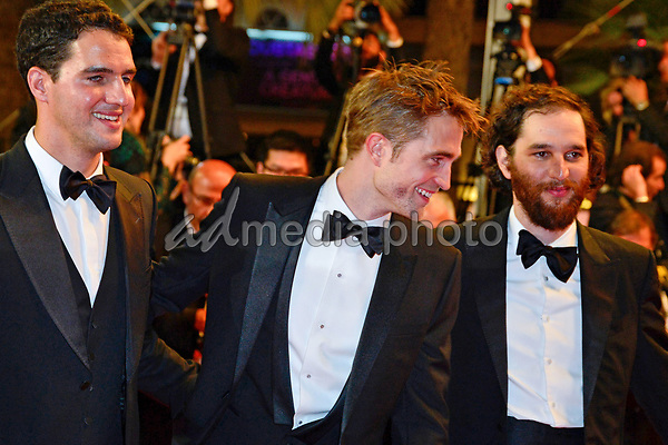 """25 May 2017 - Cannes, France - Ben Safdie, Robert Pattinson, Joshua Safdie. """"Twin Peaks"""" Premiere - The 70th Annual Cannes Film Festival. Photo Credit: Jan Sauerwein/face to face/AdMedia"""