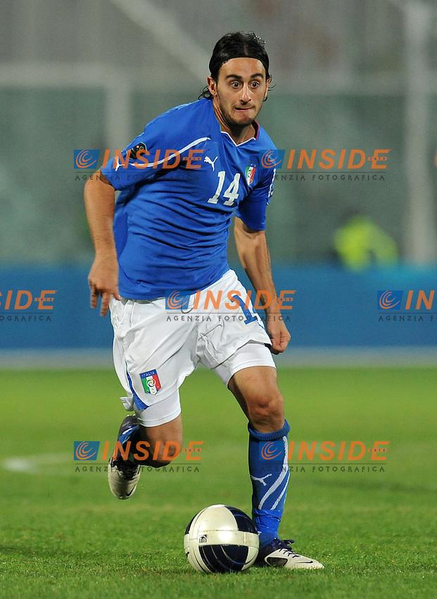 "Alberto AQUILANI (Italia).Pescara 11/10/2011 Stadio ""Adriatico"".Qualificazione Europero 2011/2012.Football Calcio Serbia Vs Italia .Foto Insidefoto Alessandro Sabattini."