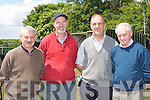 Sean King, Willie O'Donovan, Ernest Tyner and Michael Lillis Abbeyfeale at the Castleisland Races on Sunday..
