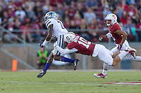 Stanford, CA - September 2, 2016: Zach Hoffpauir during the Stanford vs Kansas State football game at Stanford Stadium. The Cardinal defeated the Wildcats 26-13.