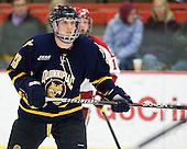 Yuri Bouharevich (Quinnipiac - 13) - The Harvard University Crimson and Quinnipiac University Bobcats played to a 2-2 tie on Saturday, November 5, 2011, at Bright Hockey Center in Cambridge, Massachusetts.