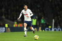 9th November 2019; Tottenham Hotspur Stadium, London, England; English Premier League Football, Tottenham Hotspur versus Sheffield United; Son Heung-Min of Tottenham Hotspur - Strictly Editorial Use Only. No use with unauthorized audio, video, data, fixture lists, club/league logos or 'live' services. Online in-match use limited to 120 images, no video emulation. No use in betting, games or single club/league/player publications